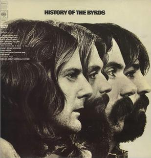 History of The Byrds artwork