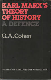 <i>Karl Marxs Theory of History</i> book by Gerald Cohen
