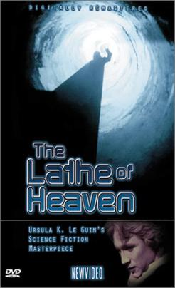 a summary of the the lathe of heaven by ursula k le guin The lathe of heaven is set in the sort of worlds that one would associate with philip k dick, but ms le guin's treatment of the material, her plot and characterization and concerns, are more akin to the humanistic, ethically engaged, psychologically nuanced fiction of theodore sturgeon.
