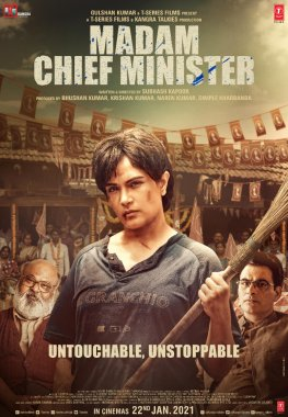Madam Chief Minister 2021 Hindi 480p PreDVD 364MB