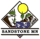 Official logo of Sandstone, Minnesota