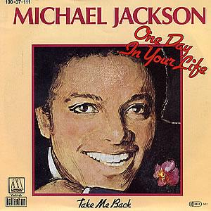 Cubra la imagen de la canción One Day in Your Life por Michael Jackson