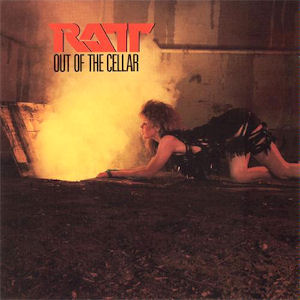 Album cover for Out of the Cellar by Ratt.