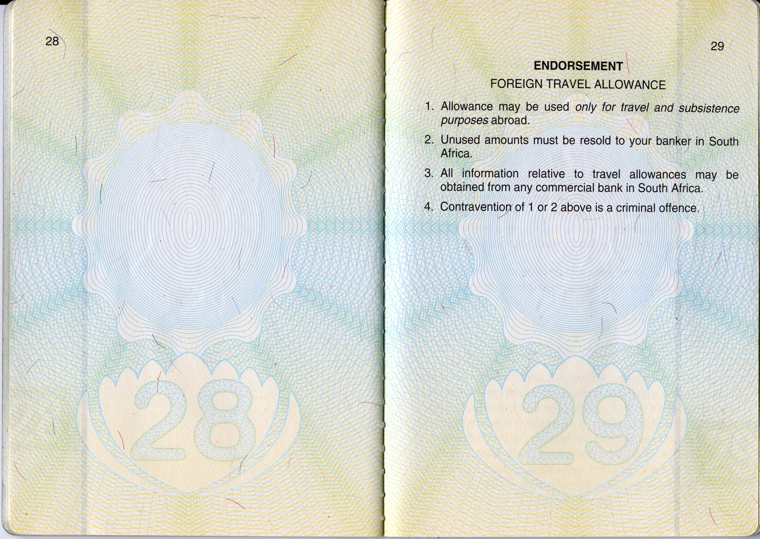 american passport last page - photo #23
