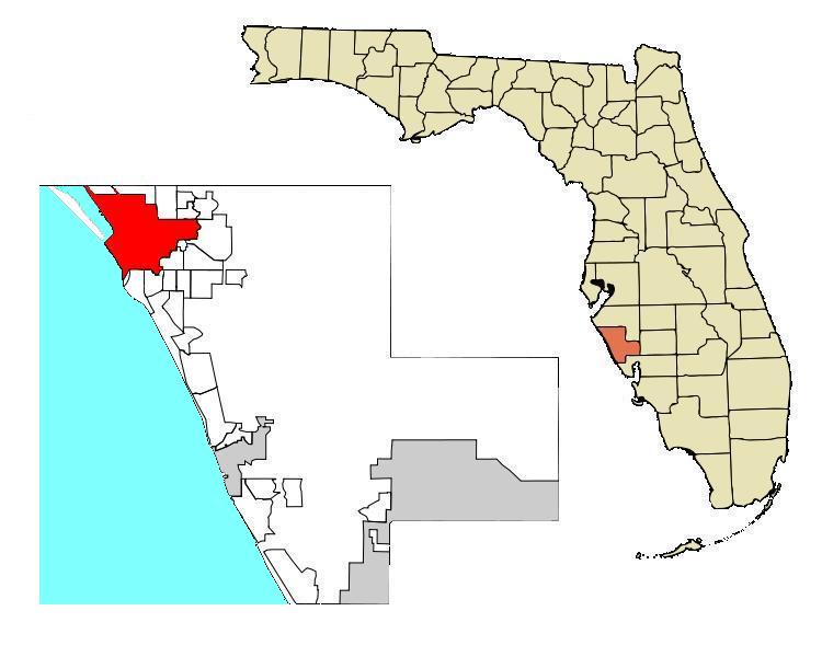 Map Of Florida Sarasota.File Sarasota Map 83d40m City Boundary Cor4wgom Highlighted Jpg