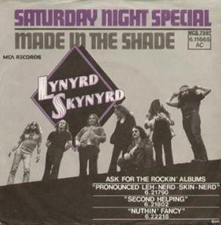 Saturday Night Special (Lynyrd Skynyrd song) 1975 single by Lynyrd Skynyrd