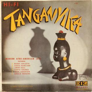 <i>Tanganyika</i> (album) 1956 studio album by Buddy Collette