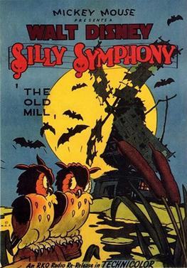 The Old Mill Silly Symphony Poster