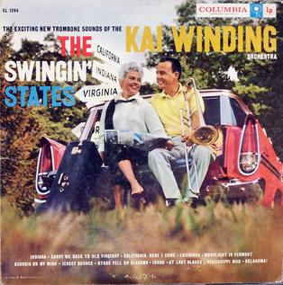 <i>The Swingin States</i> 1958 studio album by The Kai Winding Orchestra
