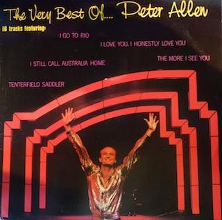 1982 greatest hits album by Peter Allen
