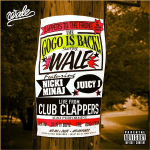 Wale featuring Nicki Minaj and Juicy J — Clappers (studio acapella)