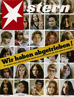 6 June 1971 cover of Stern