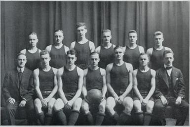 1915 16 illinois fighting illini men 39 s basketball team for How much is it to build a basketball gym