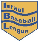 The original logo of the Israel Baseball League
