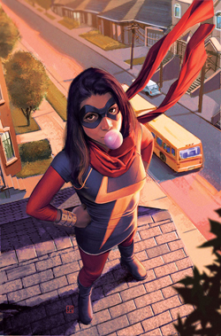 Picture of a book: Ms. Marvel