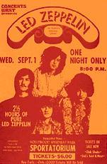 Led Zeppelin North American Tour 1971 concert tour