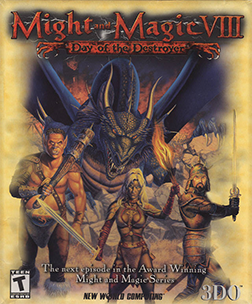 Might and Magic VIII Game Poster
