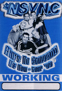 NSYNC in Concert concert tour by American boy band, N Sync