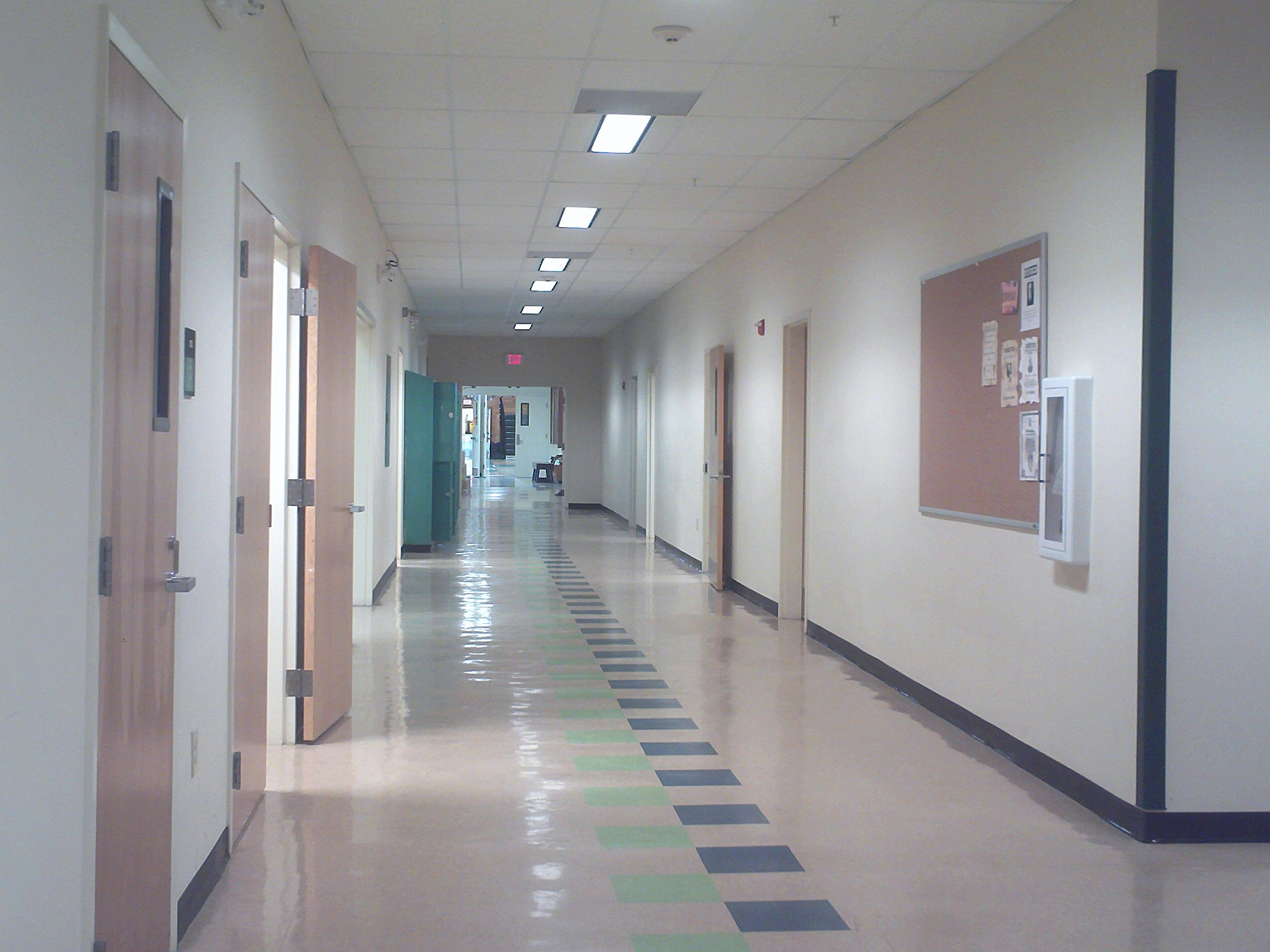 Lighitngs For New House File Penobscot Valley High School Main Hallway Jpg