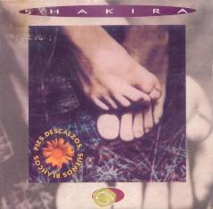 Pies Descalzos, Sueños Blancos 1996 song by Shakira