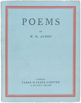 w h auden essays Published: mon, 5 dec 2016 cross cultural poetry - mid-term break, by seamus heaney & funeral blues, by wh auden mid-term break, written by seamus heaney and funeral blues by wh auden are two poems that share the same themes and ideas and deal with the same issues.