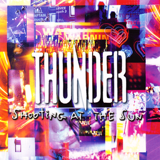<i>Shooting at the Sun</i> 2003 studio album by Thunder