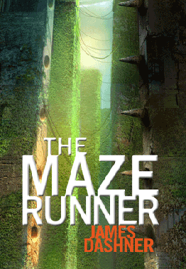 book cover for the maze runner by james dashner