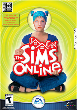 The Sims Online game cover