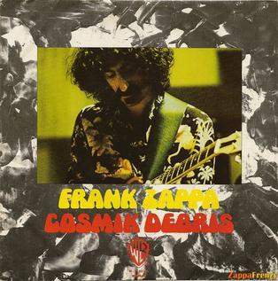 Cosmik Debris 1974 single by Frank Zappa