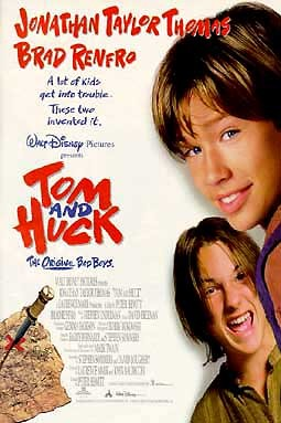 Tom And Huck Wikipedia Falls to his death in a chasm with an empty treasure box after the left arm of a long sleeve rips from the shirt of jonathan taylor thomas. tom and huck wikipedia