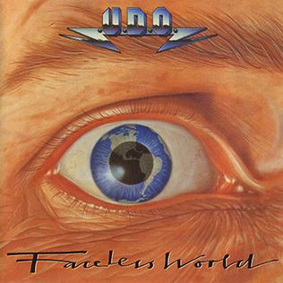 <i>Faceless World</i> 1990 studio album by U.D.O.