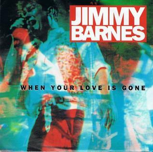 When Your Love is Gone 1990 single by Jimmy Barnes