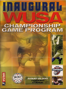 2001 WUSA Founders Cup