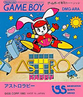 Game Boy - Astro Rabby Box Art