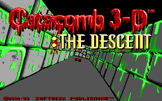 <i>Catacomb 3-D</i> 1991 video game by id software