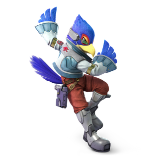Falco Lombardi fictional character from the Star Fox series