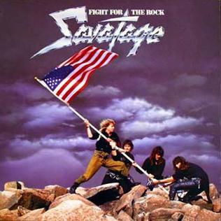<i>Fight for the Rock</i> 1986 studio album by Savatage