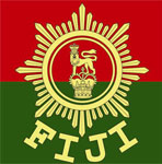 Cap badge of the Republic of Fiji Military Forces