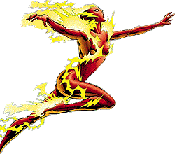 Sela Allen as the Flash of the 23rd century