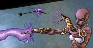 Jinx (DC Comics) Comic book supervillain and leader of the Fearsome Five, part of the DC universe