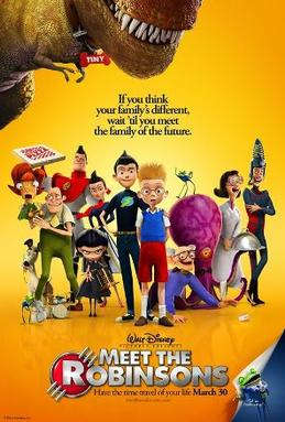Meet the Robinsons in 3D 2007 Full Length Movie