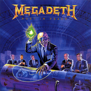 La portada de rust in peace