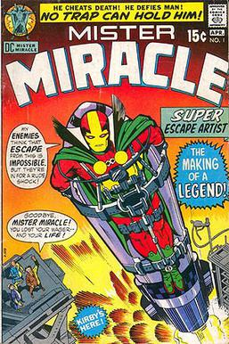 Mister Miracle #1 (April 1971). Cover art by J...