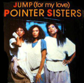 Jump (For My Love) 1984 single by the Pointer Sisters