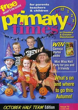 AS Media : Primary Times magazine cover