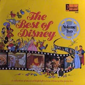 <i>The Best of Disney Volume 2</i> 1978 compilation album