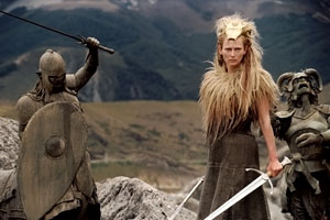 Tilda Swinton as Jadis, the White Witch. Her c...