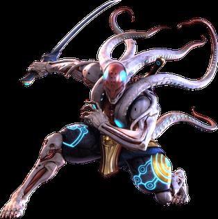 Yoshimitsu character in Tekken