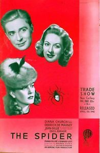 <i>The Spider</i> (1940 film) 1940 film by Maurice Elvey