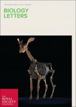 Biology Letters cover January 2016.jpg